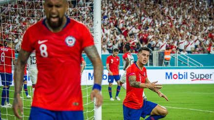 Arturo Vidal y su furiosa reacción tras el autogol de Chile ante Perú