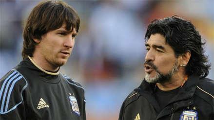 Diego Maradona y los fuertes comentarios que le dedicó a Lionel Messi | VIDEO
