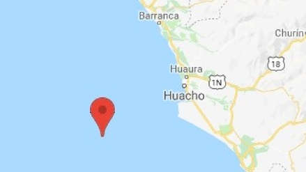 Un sismo de magnitud 4.0 sacudió Huacho esta noche