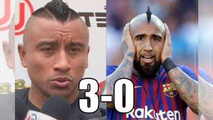 Arturo Vidal en la mira de los memes tras la derrota de Chile ante Perú