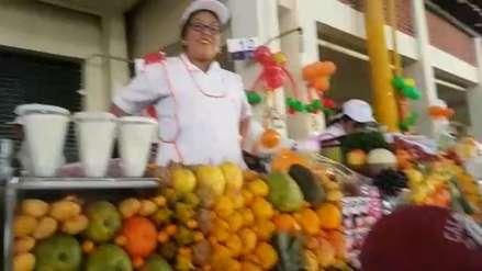 Video | Arequipeños disfrutaron del Primer Festival de Jugos y Sánguches
