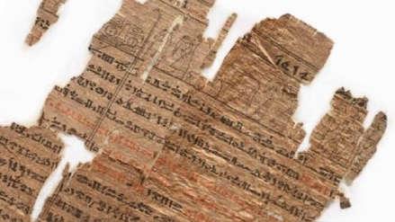 Papiro del Libro de los Muertos fue comprado por 1.56 millones de dólares