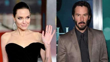 Angelina Jolie: El 'romance' con Keanu Reeves que sorprendió antes de su llegada a Lima