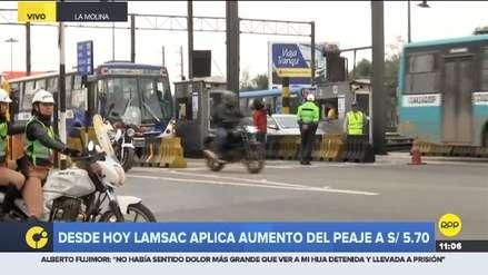 Municipalidad de Lima: No se puede suspender aumento de peajes en Vía de Evitamiento