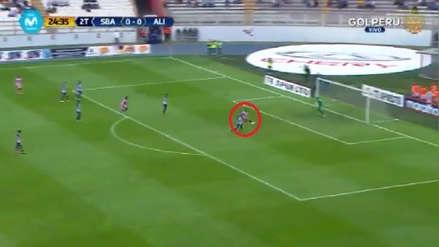 Alianza Lima vs. Sport Boys: Ernest Nungaray puso el primer tanto en el Estadio Nacional