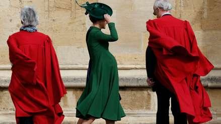 Con 9 meses de embarazo, Pippa Middleton sorprendió al asistir a la boda de la nieta de la reina Isabel II