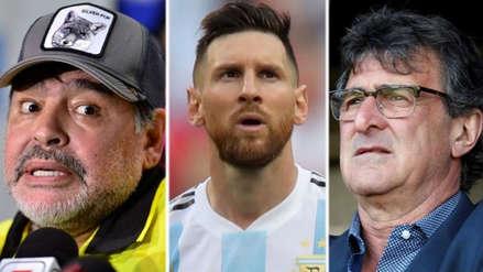 Mario Kempes defendió a Lionel Messi y critició a Diego Maradona