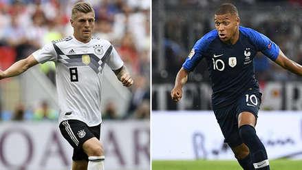 Francia vs. Alemania EN VIVO por Liga de Naciones 2018, transmisión EN DIRECTO ONLINE TV HS GRATIS vía DirecTV Sports UEFA Nations League 2018