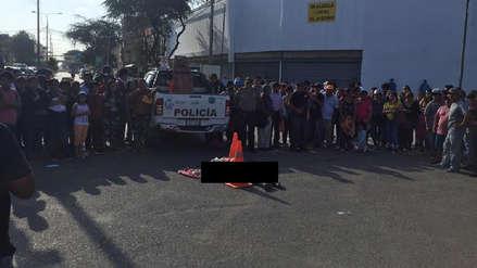 Chiclayo: combi atropella a anciana por ganar pasajeros