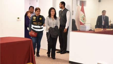 Audiencia de apelación de Keiko Fujimori fue programada para el miércoles