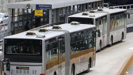 Bus del Metropolitano se averió en la avenida España