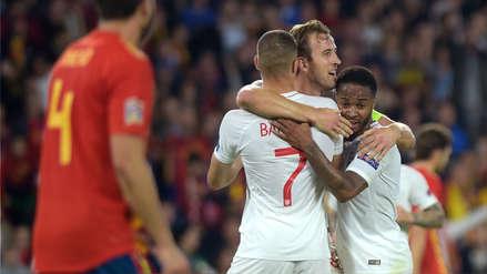 España vs. Inglaterra: resumen, goles, mejores jugadas del partido