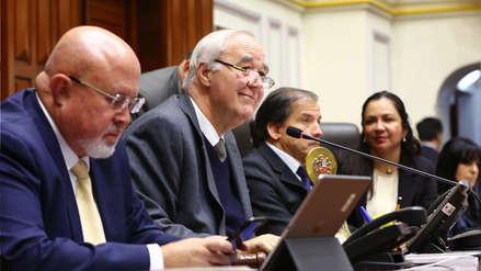 Mesa Directiva que revisó la moción que propuso la censura estuvo presidida por Víctor Andrés García Belaúnde