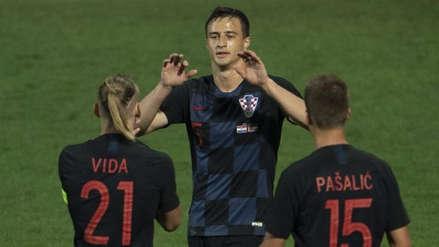 Croacia sufrió para vencer 2-1 a Jordania en un amistoso internacional