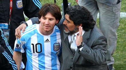 Diego Maradona llamará a Lionel Messi para pedirle disculpas