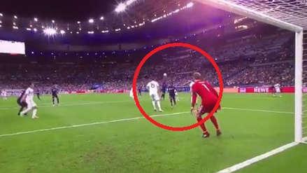 El golazo de cabeza de Griezmann ante Neuer en el Francia vs. Alemania