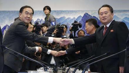 Las dos Coreas firmaron un acuerdo para conectarse por tren y carretera