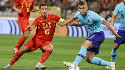 Bélgica igualó 1-1 con Holanda en Bruselas por amistoso internacional