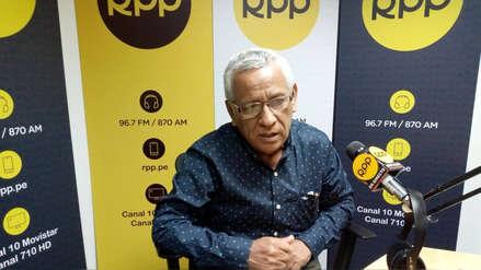 Anselmo Lozano todavía no tiene equipo técnico para el Gobierno Regional