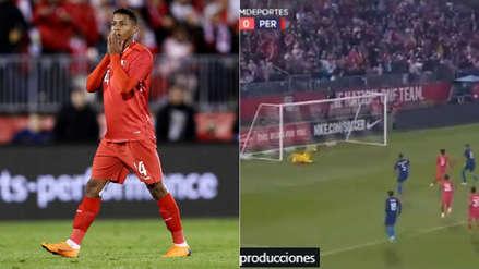 Andy Polo y el zapatazo que casi es gol peruano ante Estados Unidos