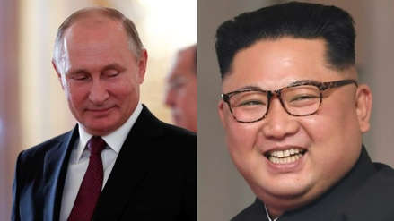 Rusia anuncia una cita entre Vladímir Putin y Kim Jong-un