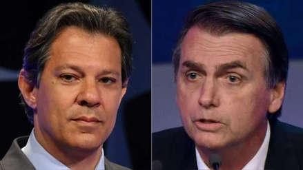 Brasil | Candidatos Jair Bolsonaro y Fernando Haddad discutieron en Twitter