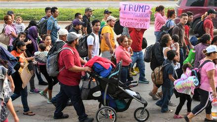 Organizador de caravana de migrantes fue detenido tras amenaza de Trump a Honduras