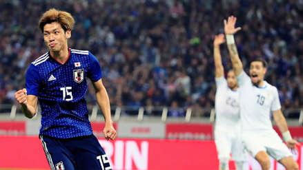 Japón derrotó 4-3 a Uruguay que perdió su segundo partido en su gira por Asia