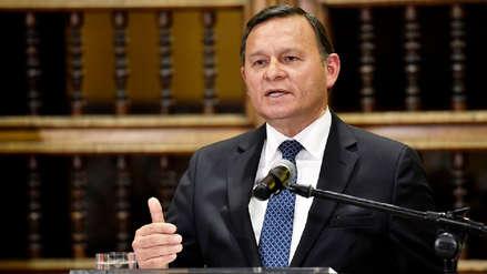 Néstor Popolizio: Las embajadas de Perú en Europa fueron alertadas de fuga de Hinostroza