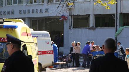 Estudiante hizo explotar una bomba en colegio de Crimea:  hay 18 muertos