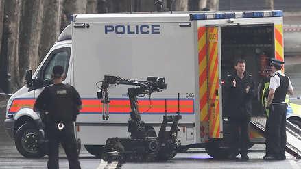 La Policía de Londres halló un paquete sospechoso cerca al Parlamento británico