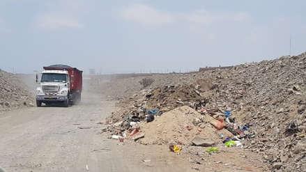 Niño costero | Denuncian arrojo de desmonte en quebrada de Huanchaco