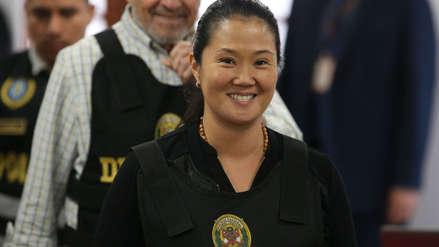 Keiko Fujimori libre: El Poder Judicial aceptó apelación contra detención preliminar
