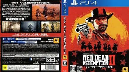 Red Dead Redemption 2 será el primer juego en lanzarse con dos discos blu-ray