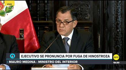Ministro del Interior puso su cargo a disposición tras fuga de César Hinostroza