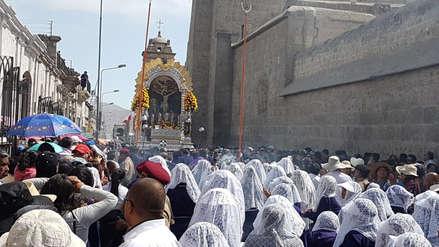 Video | Arequipa bajo la bendición del Señor de Los Milagros
