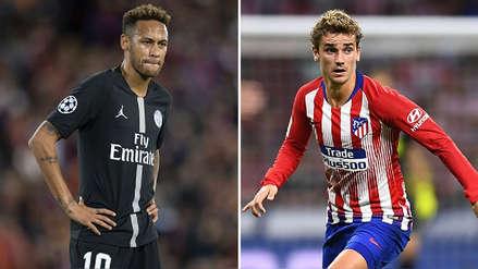 Griezmann suena en PSG para reemplazar a Neymar ante su posible salida al Barcelona