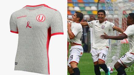 Universitario de Deportes presentó la 'Camiseta de la prevención' contra el cáncer de mama