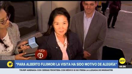 Keiko Fujimori sobre su padre: Para él fue un motivo de alegría saber que estoy libre