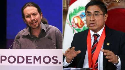 """Líder del partido español Podemos exige a su Gobierno """"seguir con atención"""" el caso Hinostroza"""