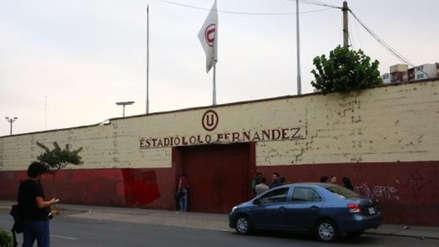 """Gremco: """"El Estadio Lolo Fernández es de Universitario de Deportes"""""""