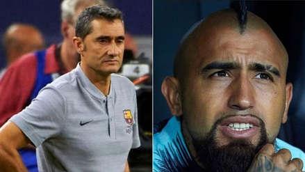 Arturo Vidal recibió un mensaje de Valverde tras polémicos mensajes