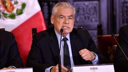 Villanueva se rectifica y asegura que el Gobierno se enteró de la fuga de Hinostroza el 17 de octubre