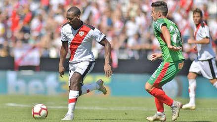 Rayo Vallecano, con Luis Advíncula, perdió ante el Getafe en la Liga de España