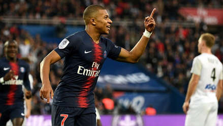 Kylian Mbappé y su gol con PSG: definió entre dos defensas en la goleada ante Amiens