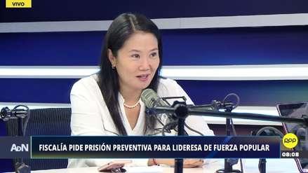 Keiko Fujimori dice que los nuevos testigos de la Fiscalía han inventado información
