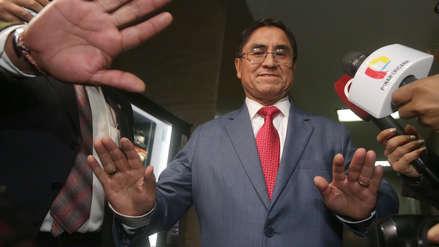 Presidente del Poder Judicial estima que extradición de Hinostroza tomaría dos años