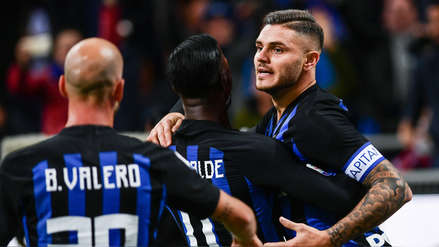 Inter con gol de Mauro Icardi venció 1-0 al Milán en el 'Derby della Madonnina'