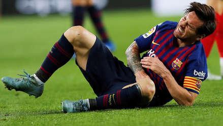 Ernesto Valverde habló sobre la baja de tres semanas de Lionel Messi