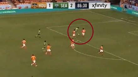 Raúl Ruidíaz marcó en la victoria de Seattle Sounders sobre Houston Dynamo en la MLS